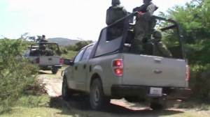 Raw Video: Human remains found during search for 43 missing students in Mexico