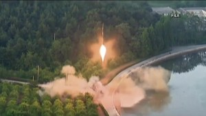 North Korea launches second intercontinental ballistic missile