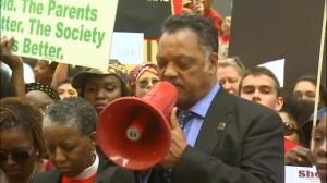 Raw video: #BringBackOurGirls rally in Chicago, IL