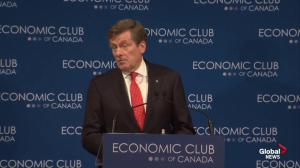 John Tory explains why he's reversing his pledge not to raise TTC fares