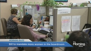 Should the law mandate more women in boardrooms?