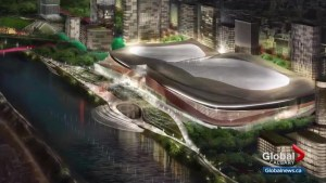 Calgary Flames hoping to get support for new arena