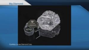 BIV: Vancouver company finds massive diamond