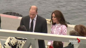 Will and Kate take tour of Vancouver