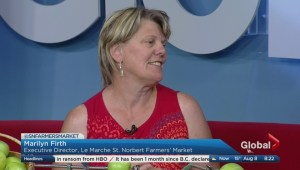 Global News Morning – Farmers' Festival in St. Norbert
