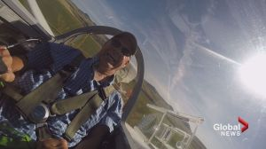 'I didn't know this was possible': quadriplegic man takes flight in glider