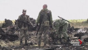 Pro-Russian separatists shot down transport plane killing 49 troops