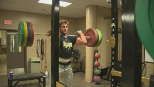 Manitoba Bison offensive lineman bulking up his popularity
