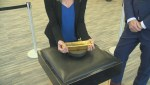 Shannon Cuciz picks up pure gold at The Royal Canadian Mint