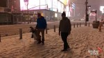 Snow-bound New Yorkers play 'snow golf', have snowballs fights in Times Square