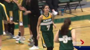 University of Alberta basketball player Maddie Rogers makes every minute count in final season