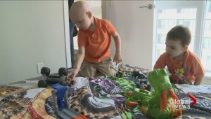 Monster Truck surprise for 3-year-old boy with leukemia