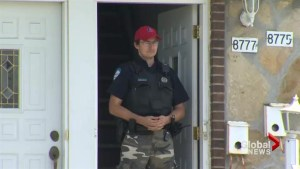 RCMP execute search warrant