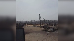 Video shows destruction left behind by Fort McMurray wildfires