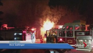 Regina house fire started after kids were playing with a lighter