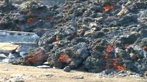 Raw video: Cape Verde volcanic eruption continues
