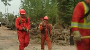 Saskatchewan wildfire evacuees waiting to return home