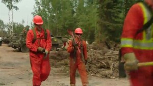 Saskatchewan wildfire evacuees waiting to return home