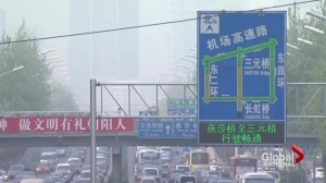 China struggling to cope with soaring pollution