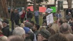 Hundreds attend rally against carbon tax in Calgary