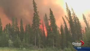 Spreading Creek wildfire being held