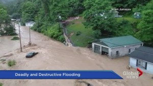 West Virginia ravaged by flooding