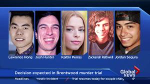 Decision expected in Brentwood murder trial
