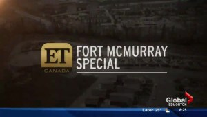 Fire Aid Special airing on ET Canada
