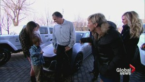 Canadian Armed Forces veteran, family surprised with free car from sponsor on The Morning Show
