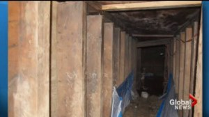 Police say they've found the builders of the York U tunnel and no charges will be laid.