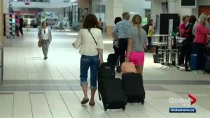 Saskatoon airport affected by enhanced screening measures for flights to U.S.