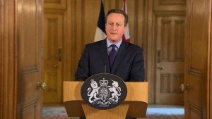 "British PM says ""threat level is already at severe"""