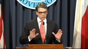 Texas Gov. Perry saying he will fight indictments against him