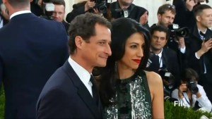 Clinton aide Abedin leaves scandal-plagued husband, Weiner