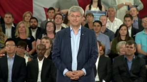 Harper avoids defining recession, lays blame with energy sector