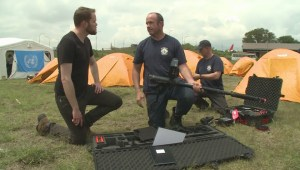 Tour the Burnaby firefighters camp in Nepal