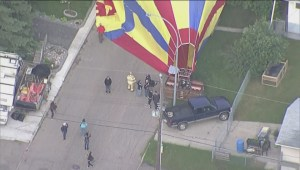 Beverly Residents Surprised By Hot Air Balloon Landing