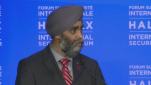 Harjit Sajjan: CF-18 fighter jets useless without co-ordination on the ground