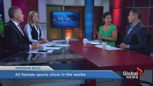 An all-female sports talk show?
