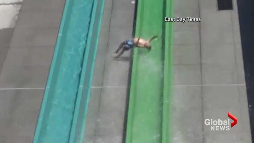Child thrown from water park slide in California