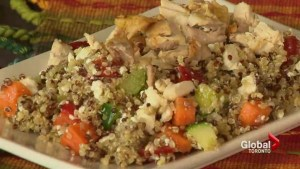 Creating meals from holiday leftovers