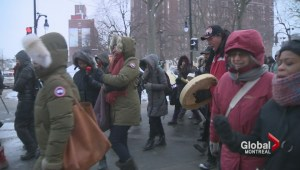 Montreal Memorial March to Honour the Lives of Missing and Murdered Women