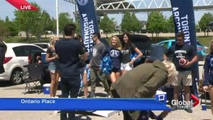 Tailgating comes to Toronto's BMO Field as the Argos welcome fans to new home