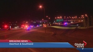 Fatal rollover on Deerfoot Trail