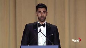 Daily Show's Hasan Minhaj roasts media during White House correspondents' dinner