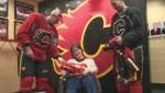 Dream comes true for loyal Flames fan from Cape Breton