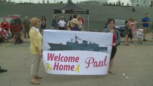 Families reunited as HMCS Fredericton returns