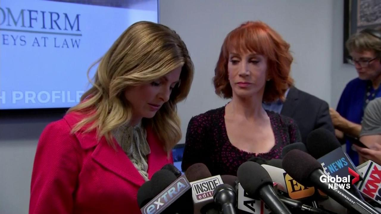Kathy Griffin Free Of Federal Investigation Into Severed Trump Head Stunt