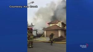 Home destroyed by fire in Calgary's Sundance neighbourhood