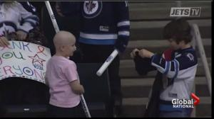 Generosity of young Jets fan warms hearts